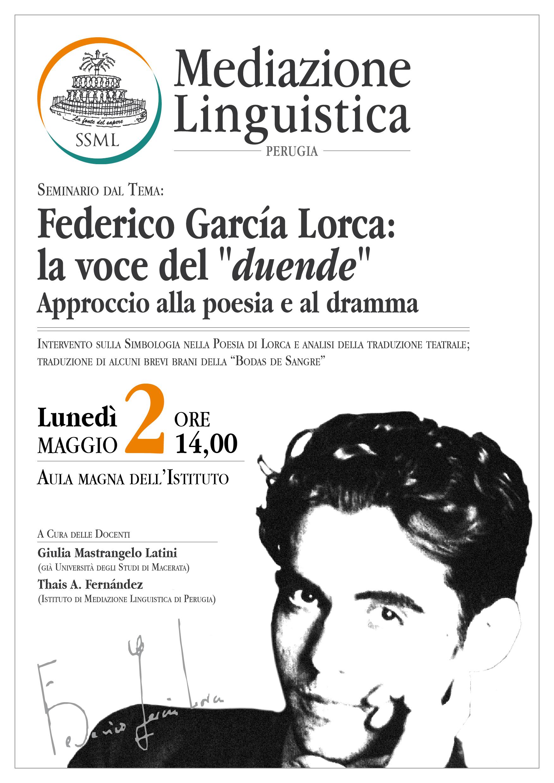 "Federico Garcìa Lorca: la voce del ""duende"""