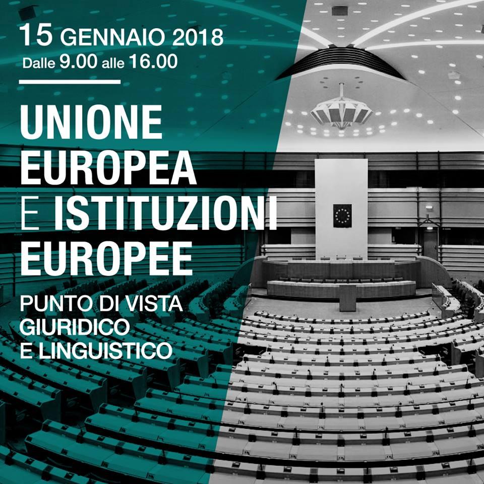 Seminario Unione Europea e Istituzioni Europee