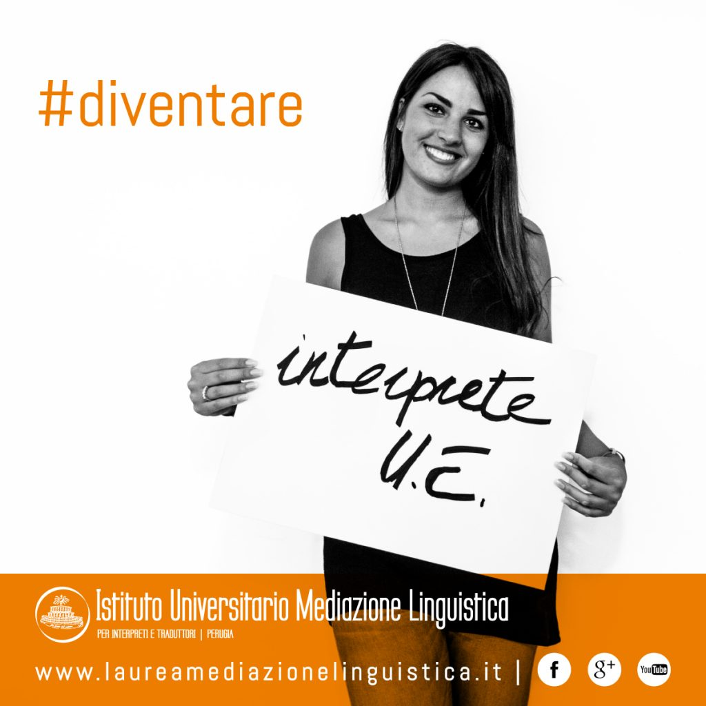 #diventare interprete UE