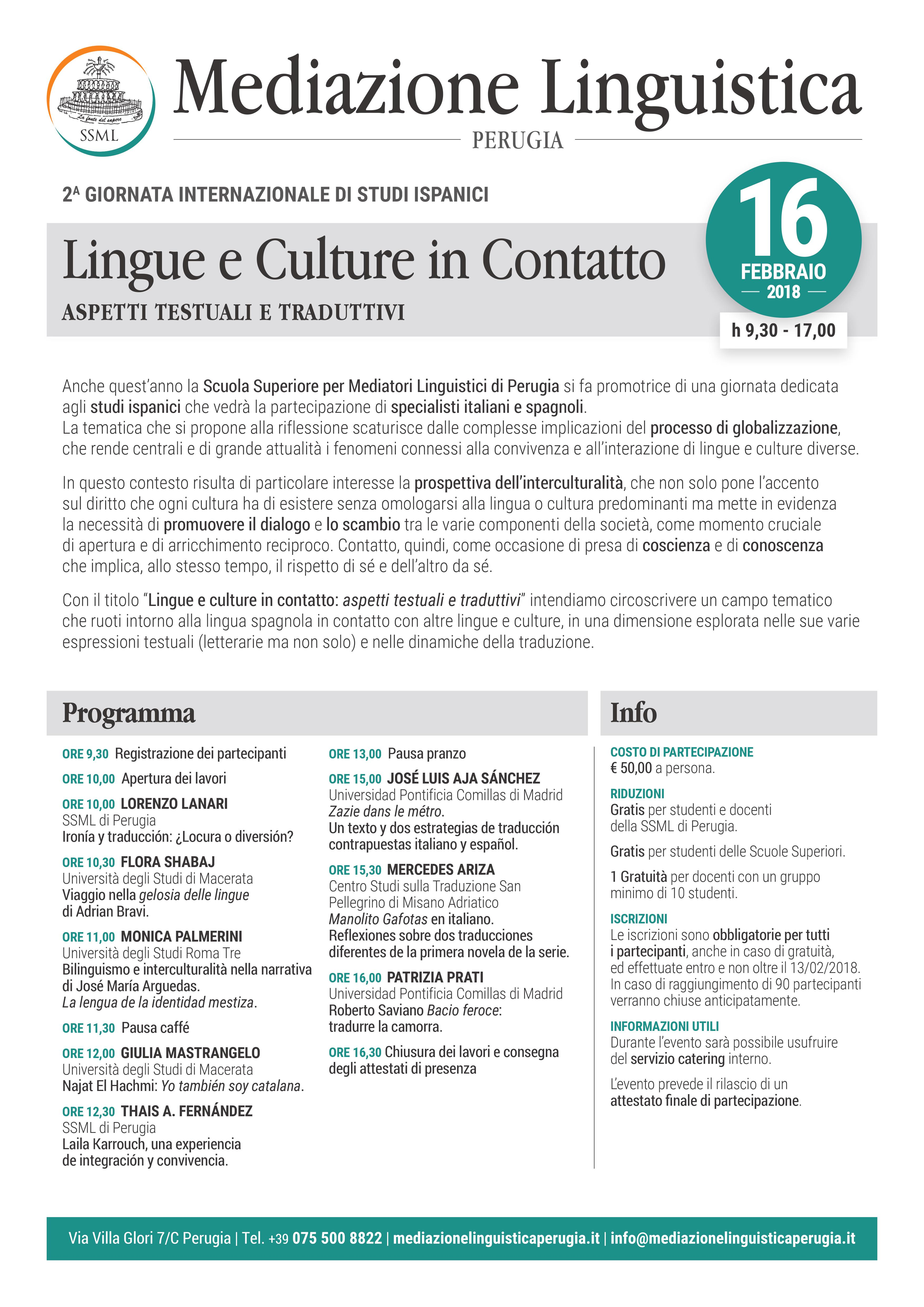 Lingue e Culture in Contatto