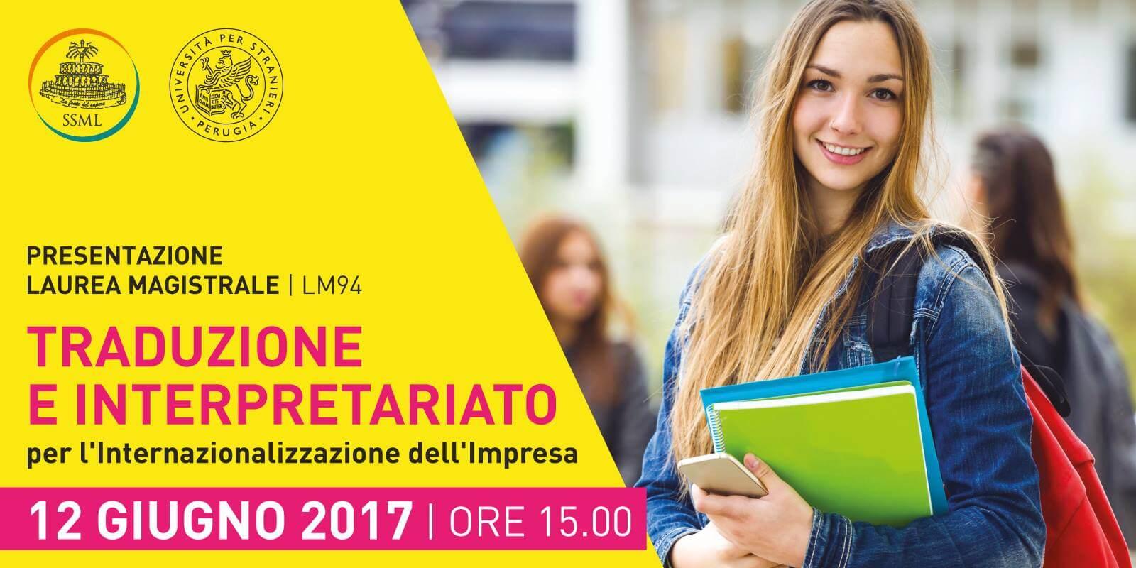 Presentazione nuovo corso di Laurea Magistrale - banner
