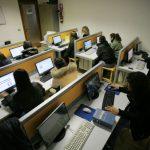Foto del laboratorio informatico