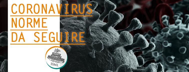 Coronavirus: comportamenti da seguire