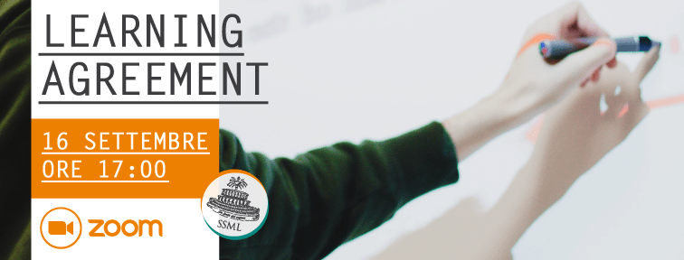 Learning Agreement: incontro su Zoom