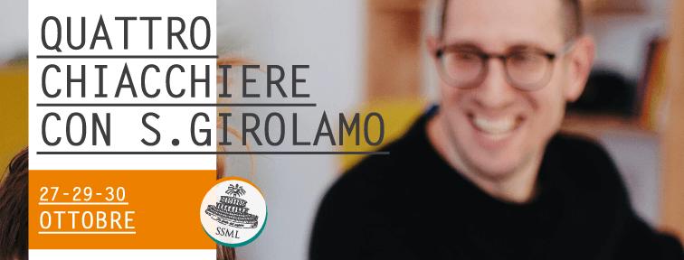 Quattro chiacchiere con San Girolamo